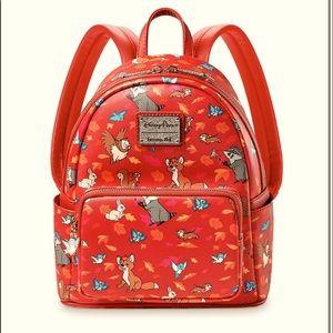 NWT Disney lounge fly critters mini backpack